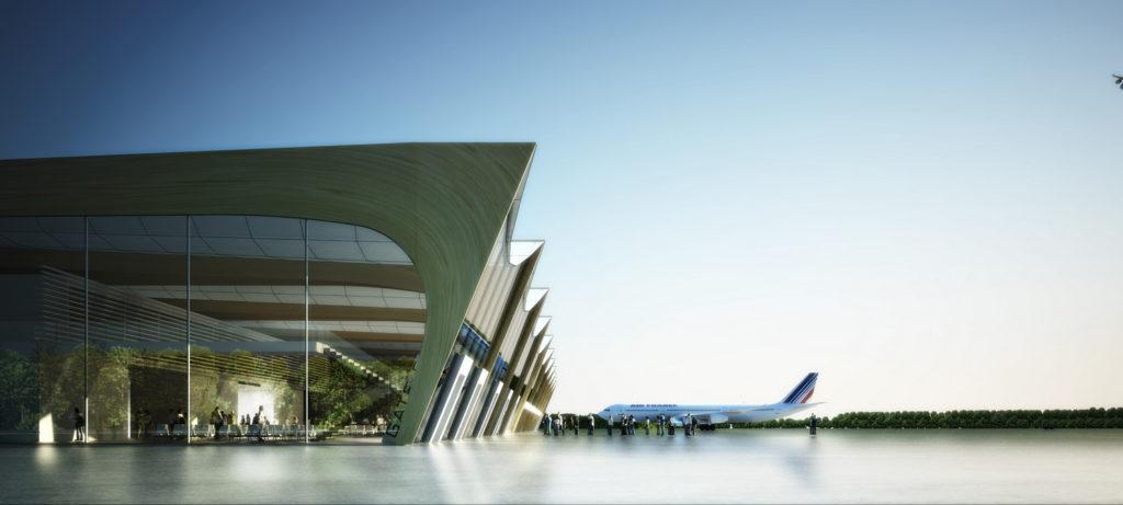 main building - AIRSIDE