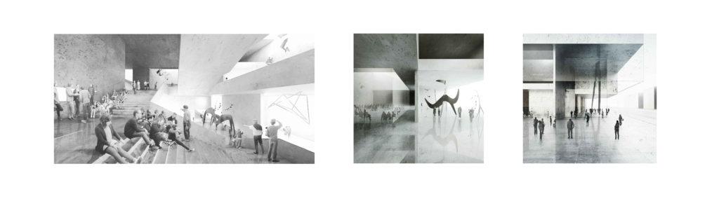 Wizualizacje przestrzeni wystawowych