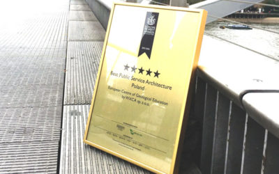 Five star award for ECEG on Millenium Bridge