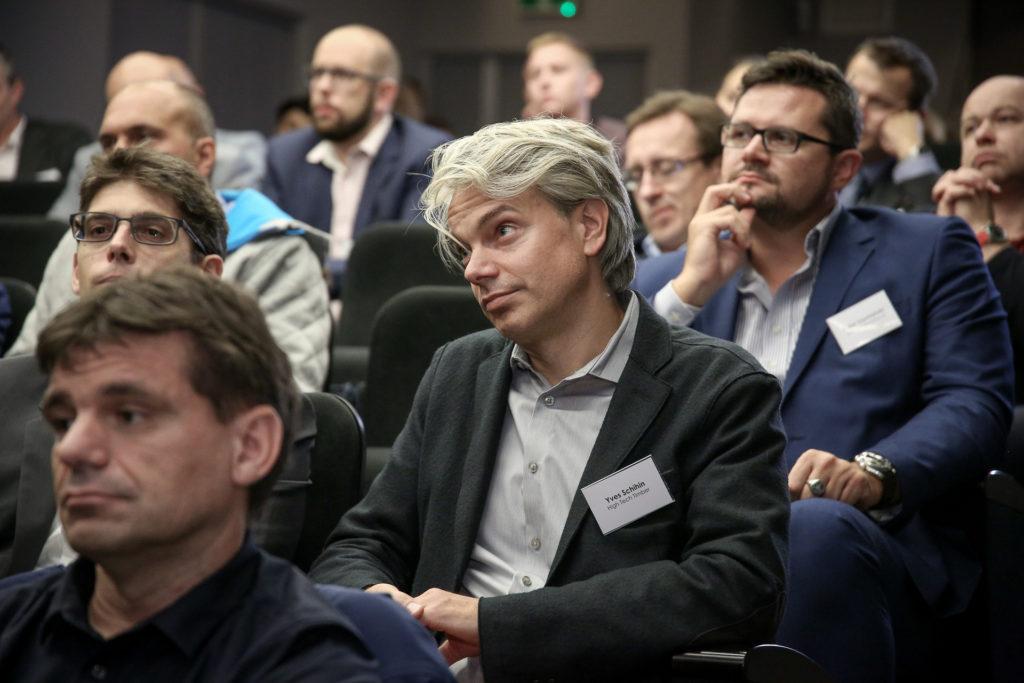 Publiczność podczas prezentacji