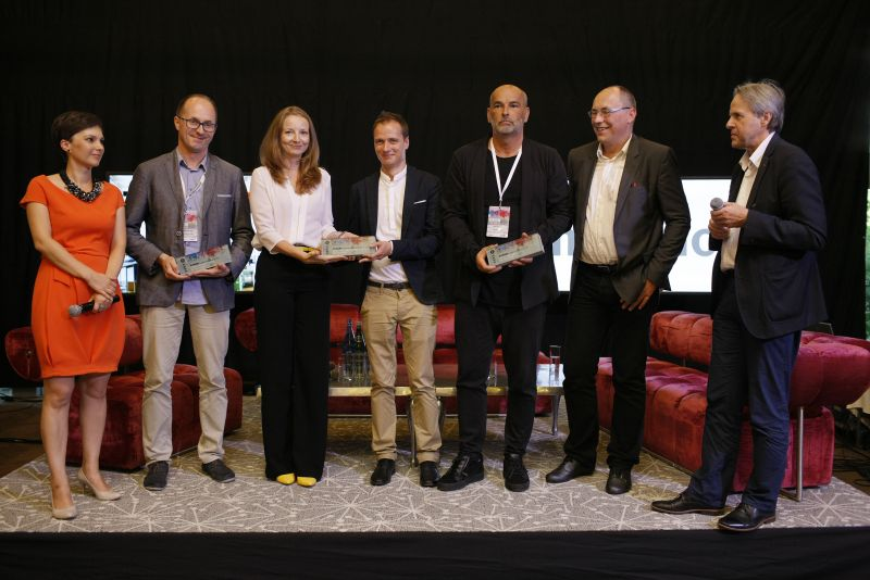 The Winers of the Eurobuild Awords in Architecture 2016