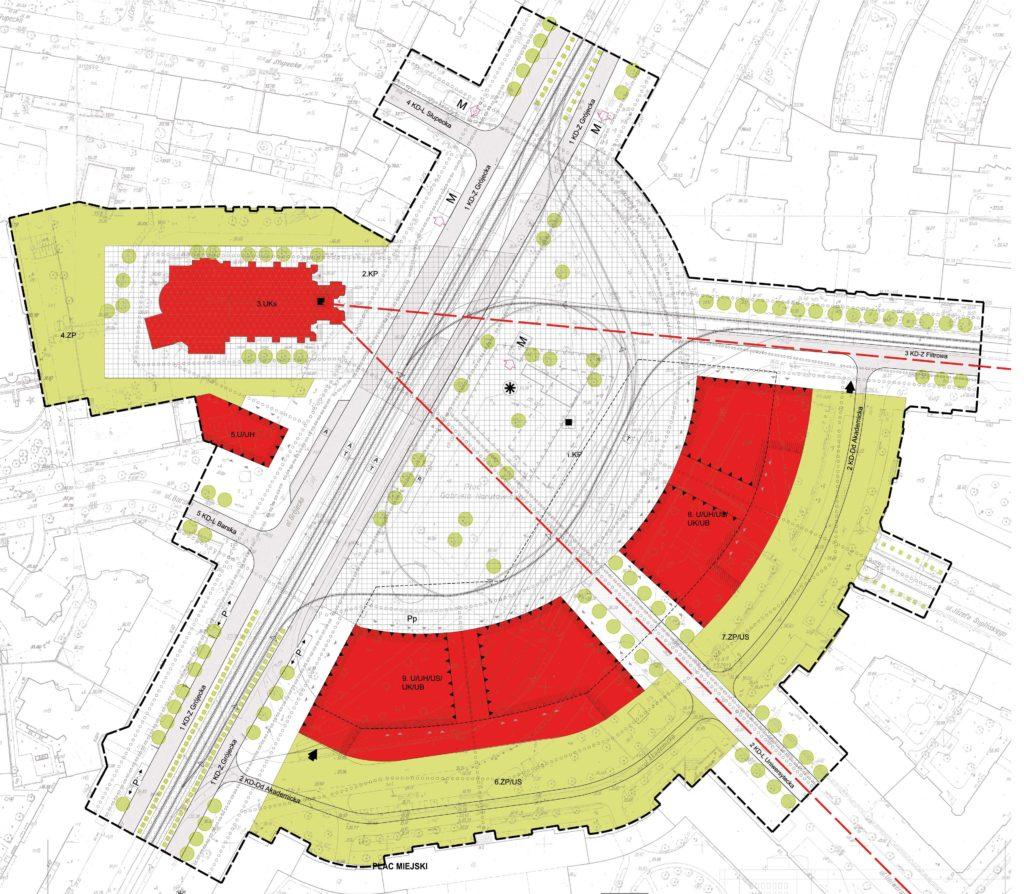 Propozycja Miejscowego planu zagospodarowania terenu