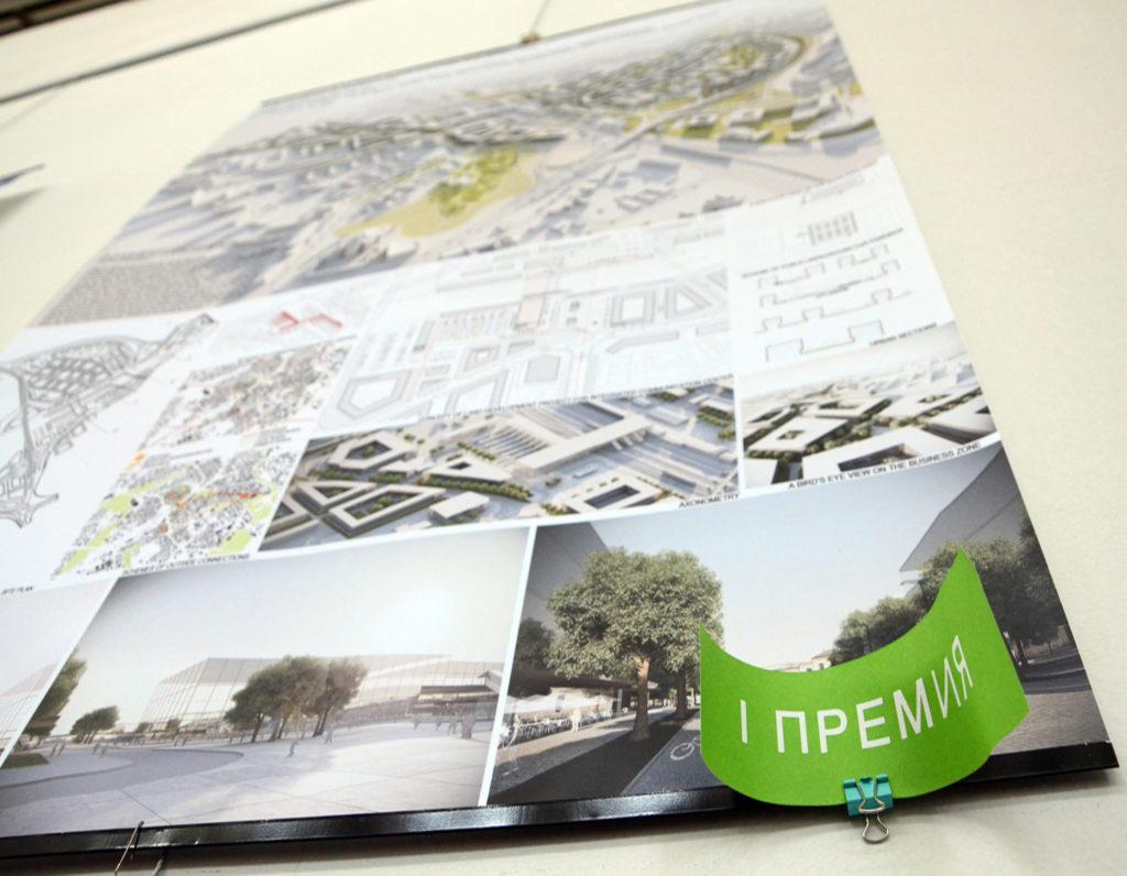 Zintegrowane Centrum Komunikacyjne w Białymstoku, I nagroda, Mińsk, Białoruś